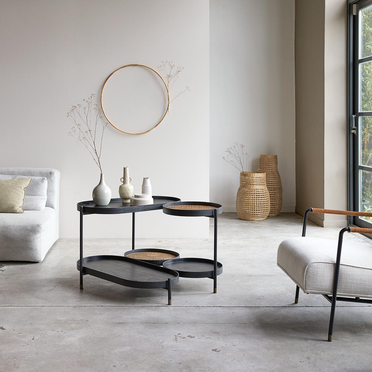 Alex mindi and canework Coffee Table