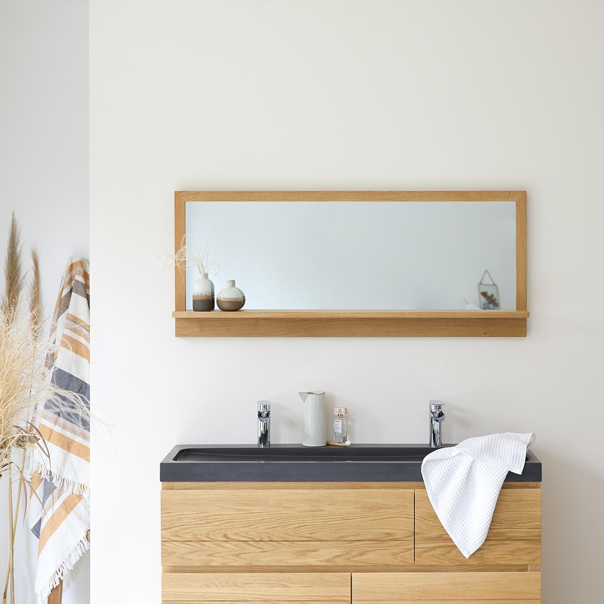 Easy oak Mirror 120x50 cm