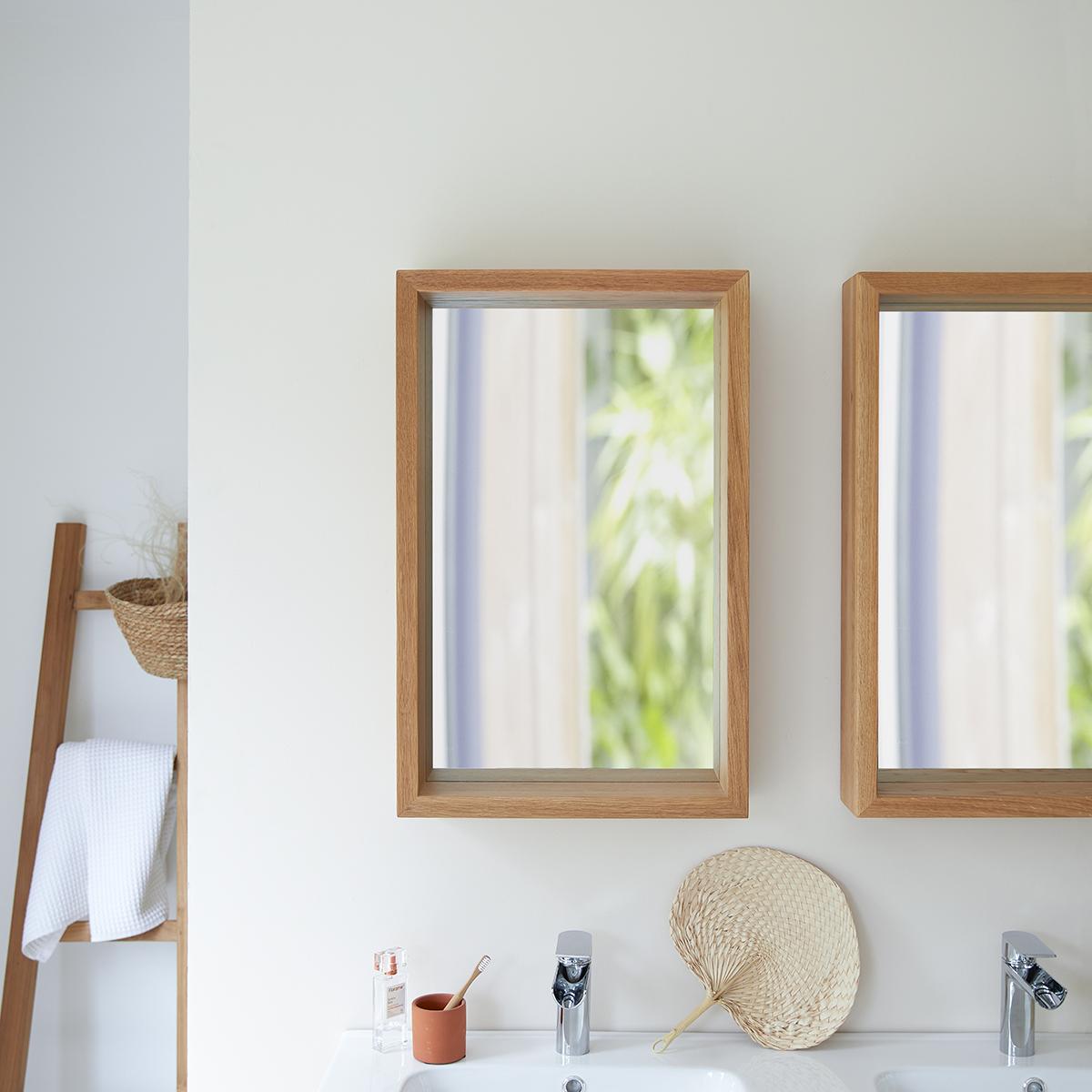 Easy oak Mirror 70x45 cm