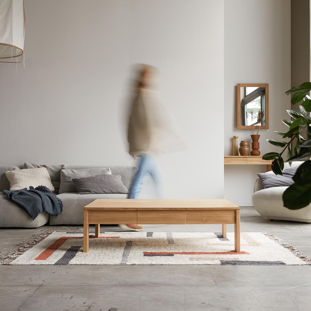 Eden solid teak Coffee Table