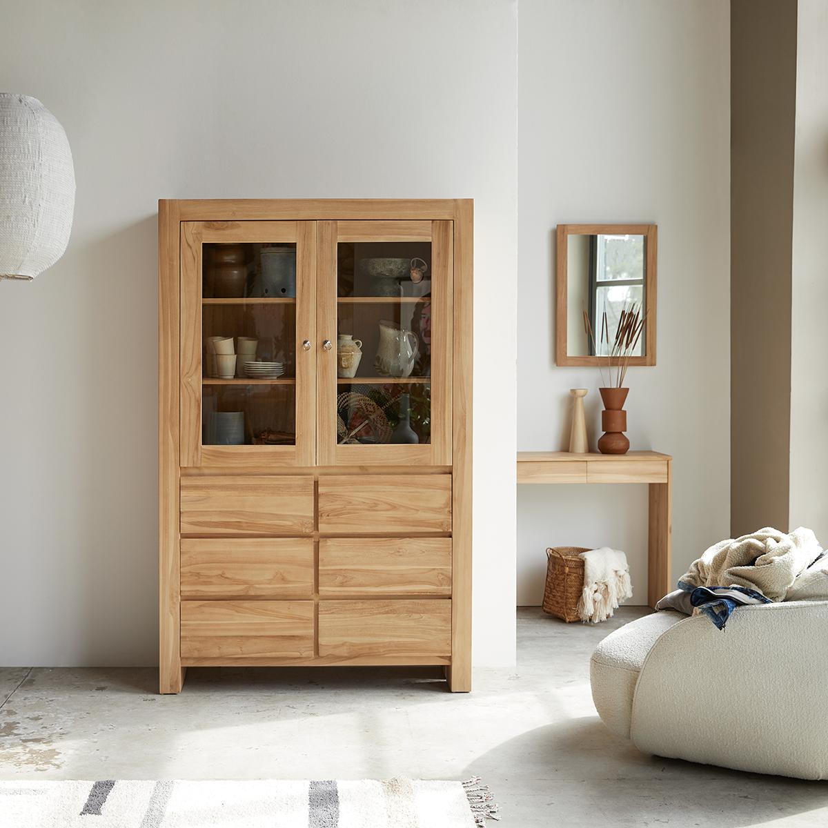 Eden solid teak Kitchen dresser