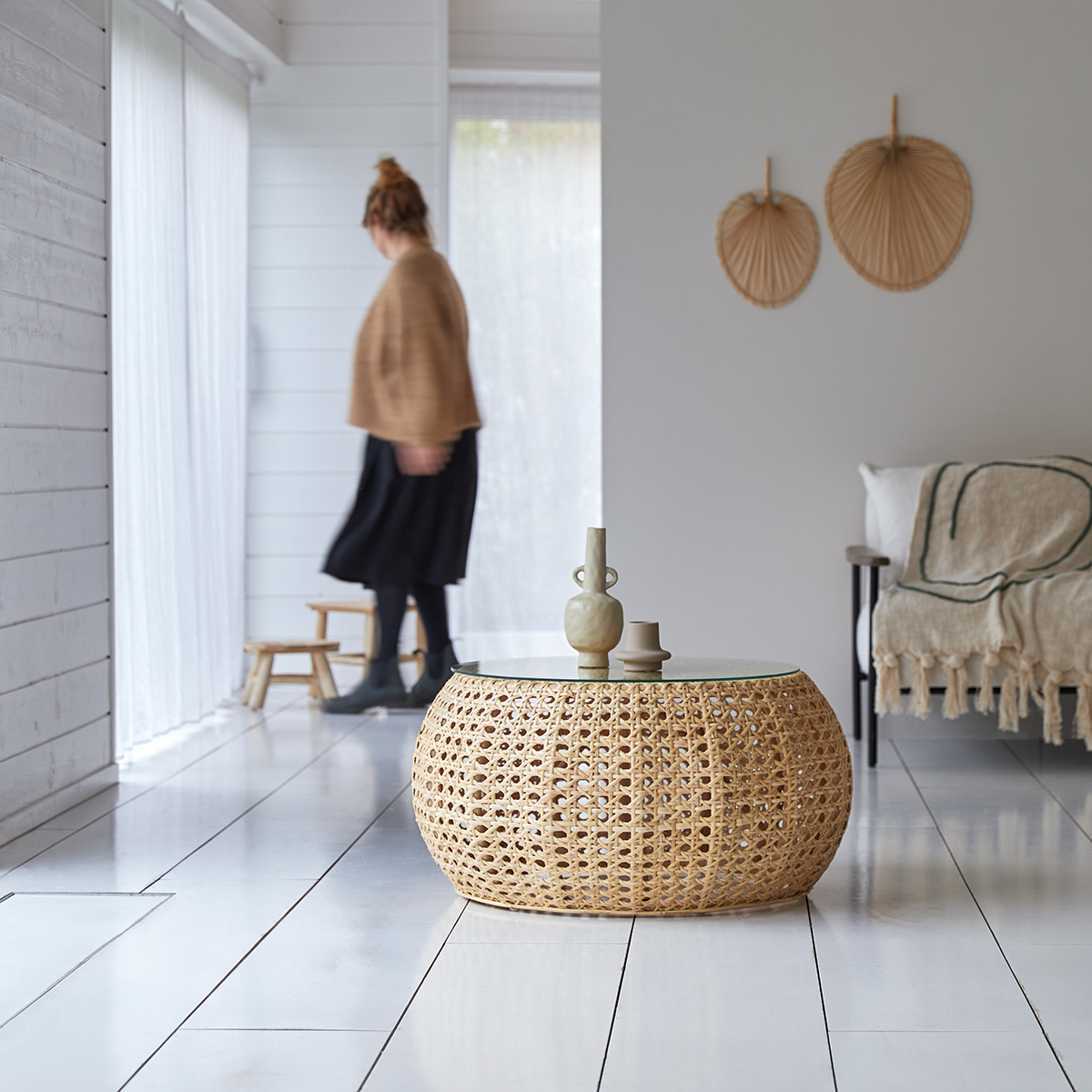 Esther rattan Coffee Table