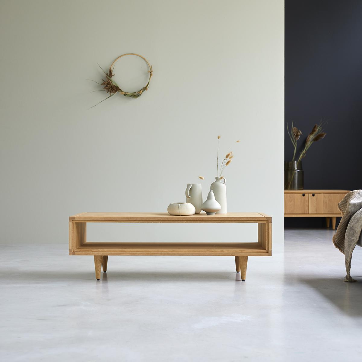 Jonàk solid oak Coffee Table