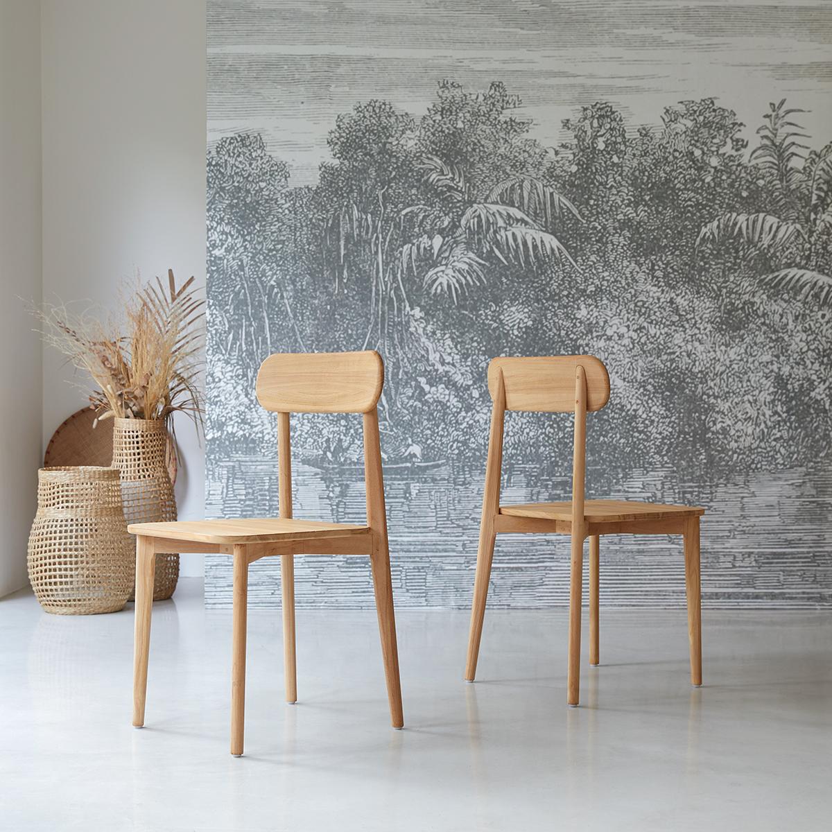 Jonàk solid teak Chair