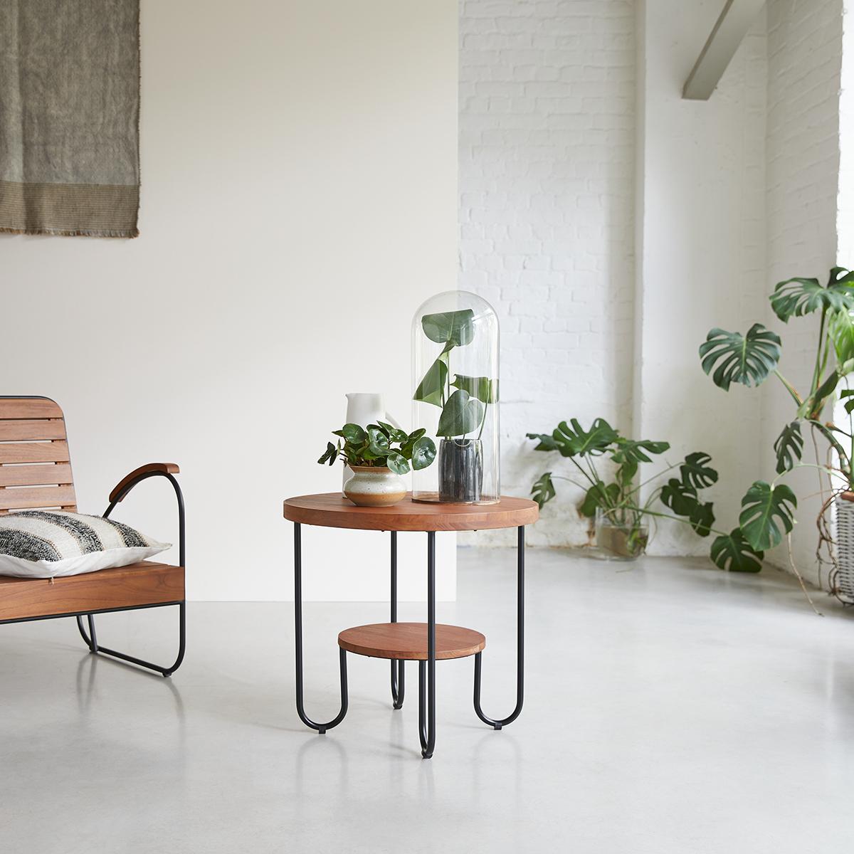 Key Wood solid teak Coffee Table