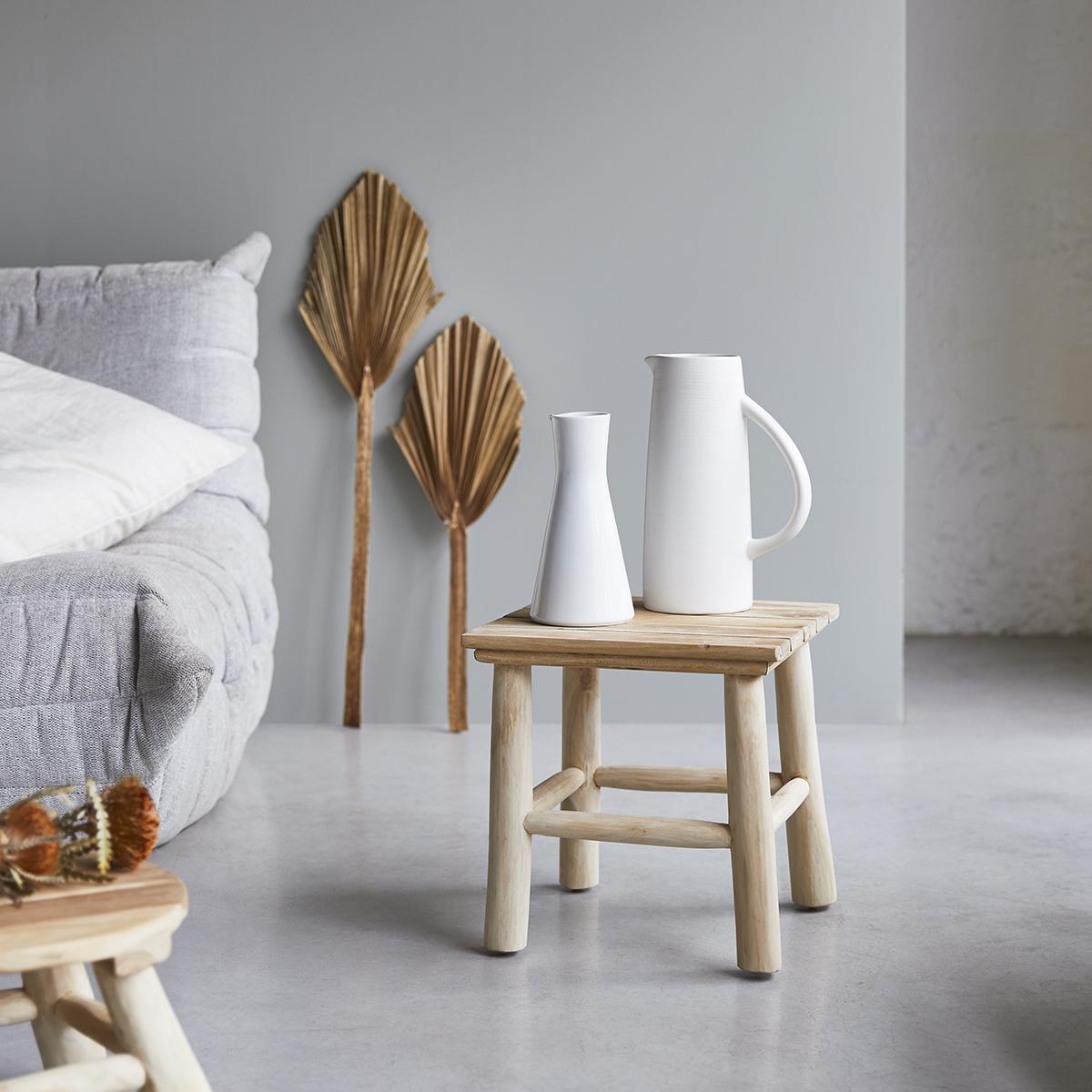 Kilim solid teak Side table