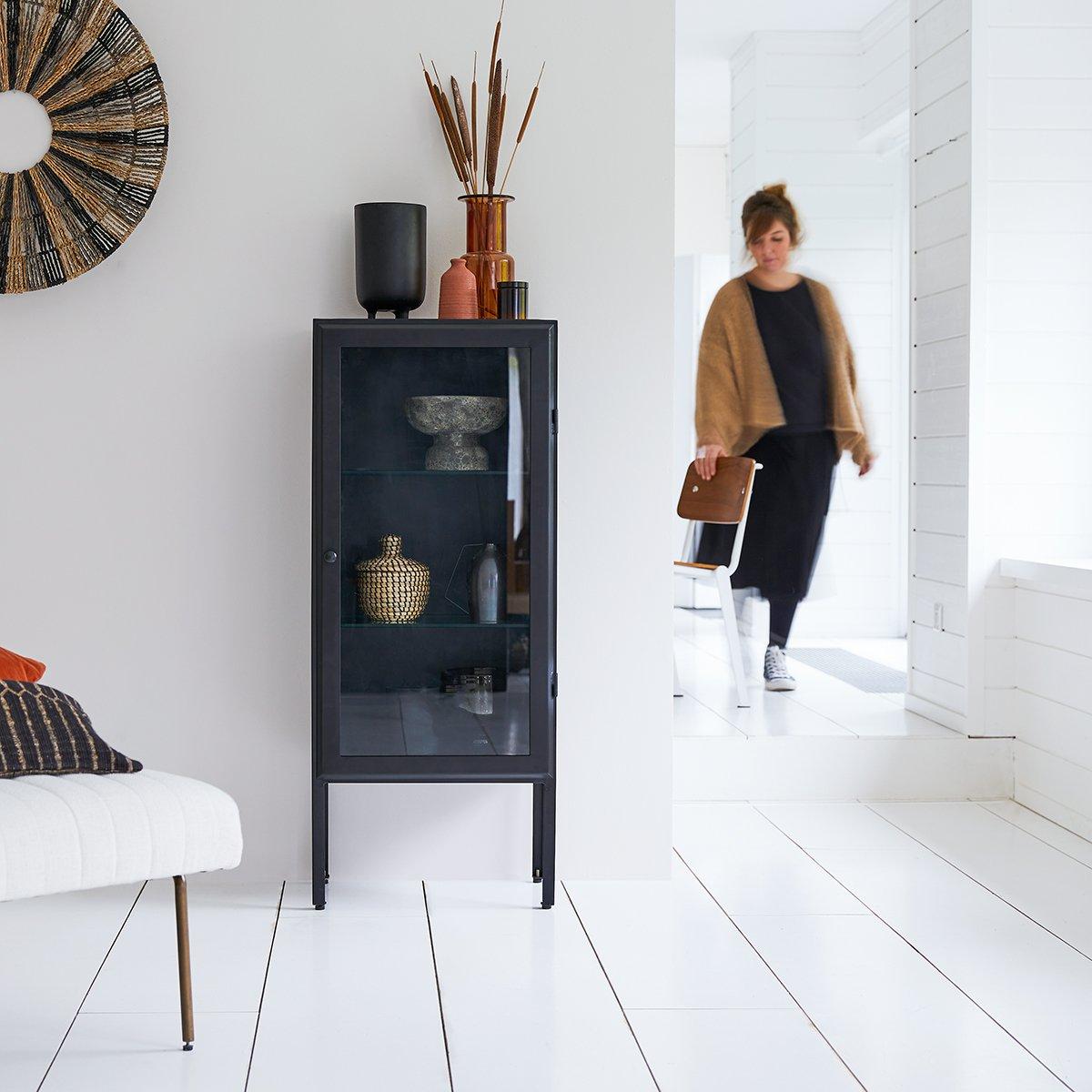 Lison metal Display cabinet