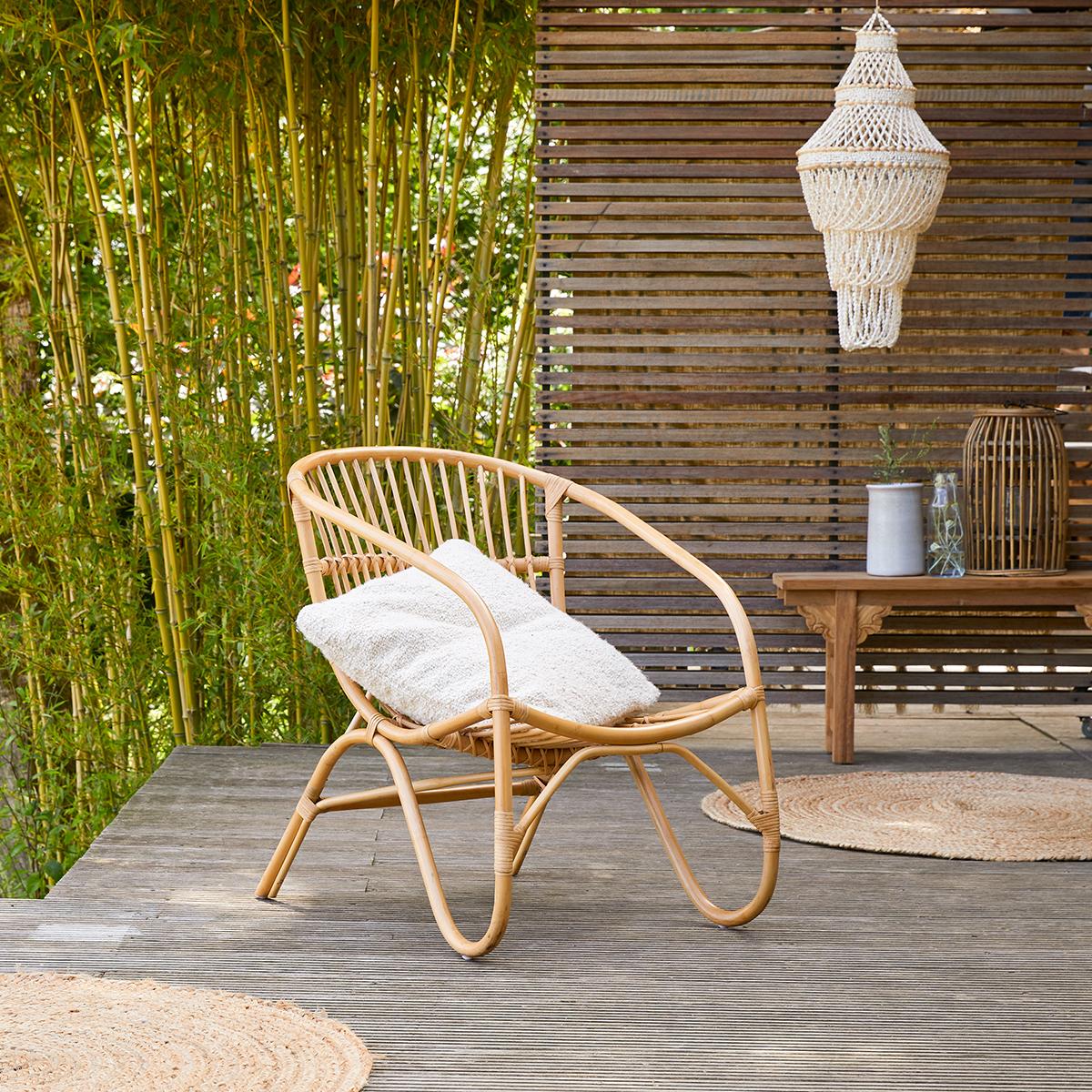 Mutine rattan garden Armchair