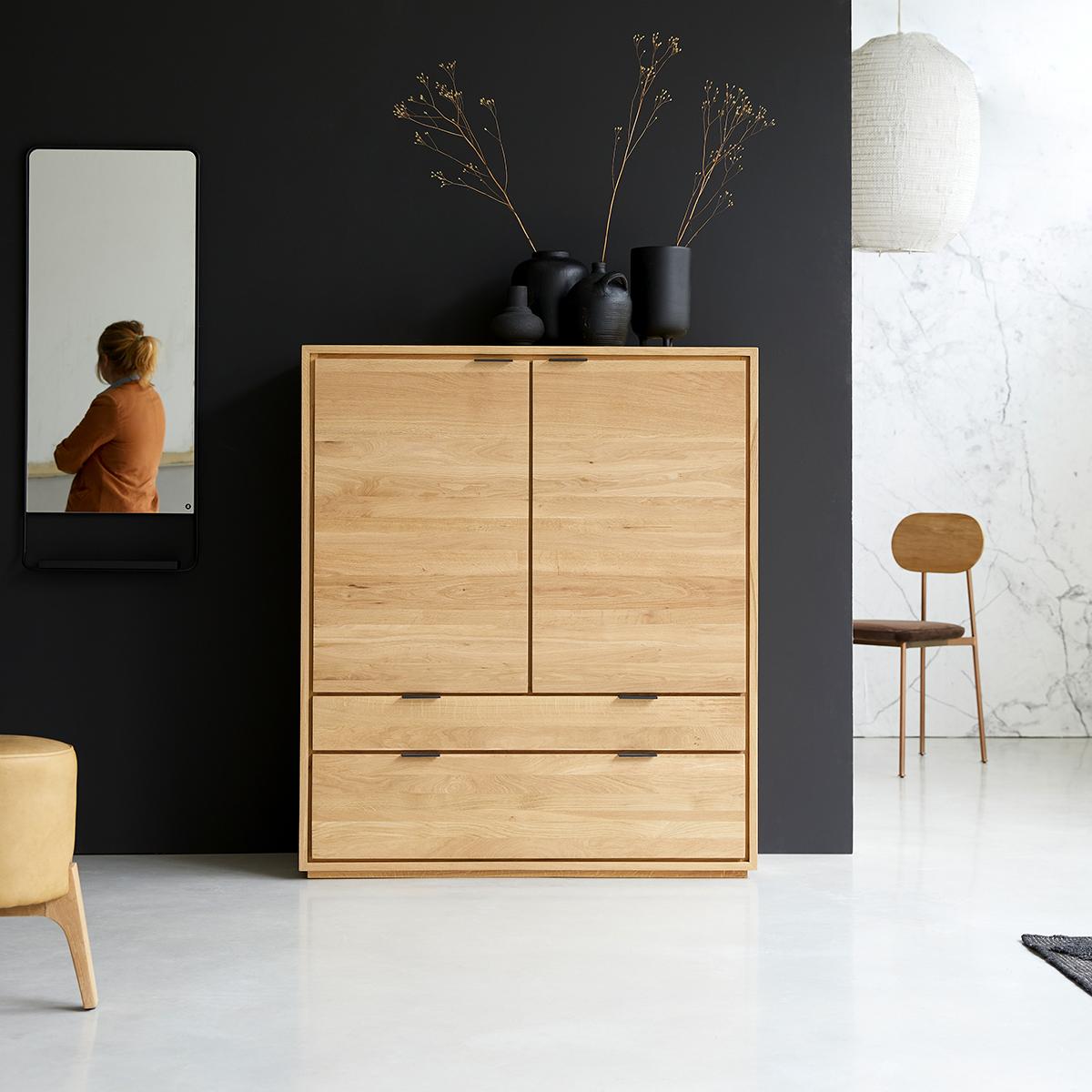 Senson solid oak cabinet