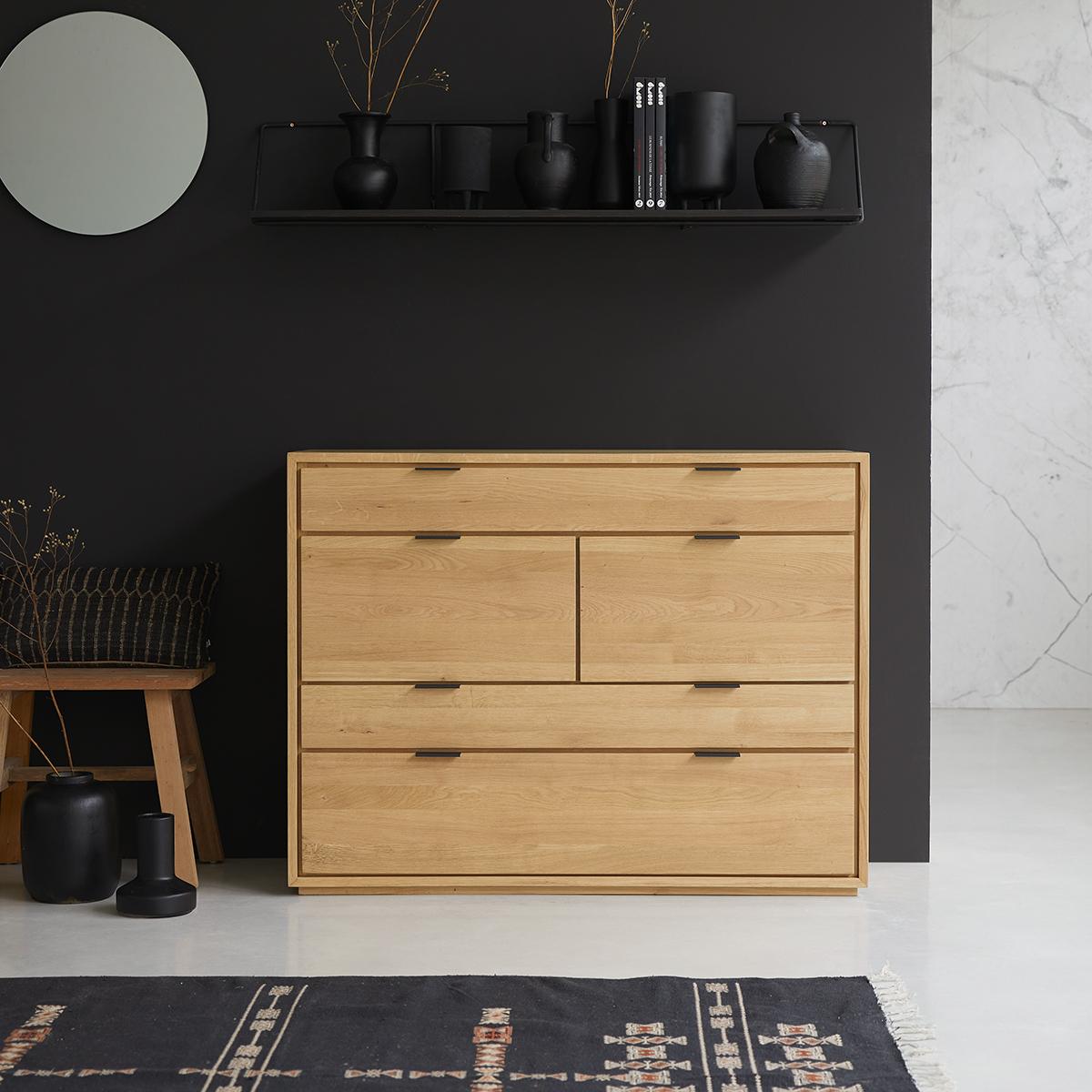 Senson solid oak Chest of drawers