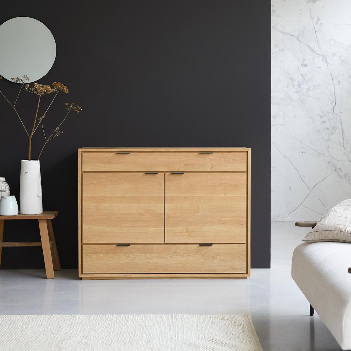 Senson solid oak Sideboard 120 cm