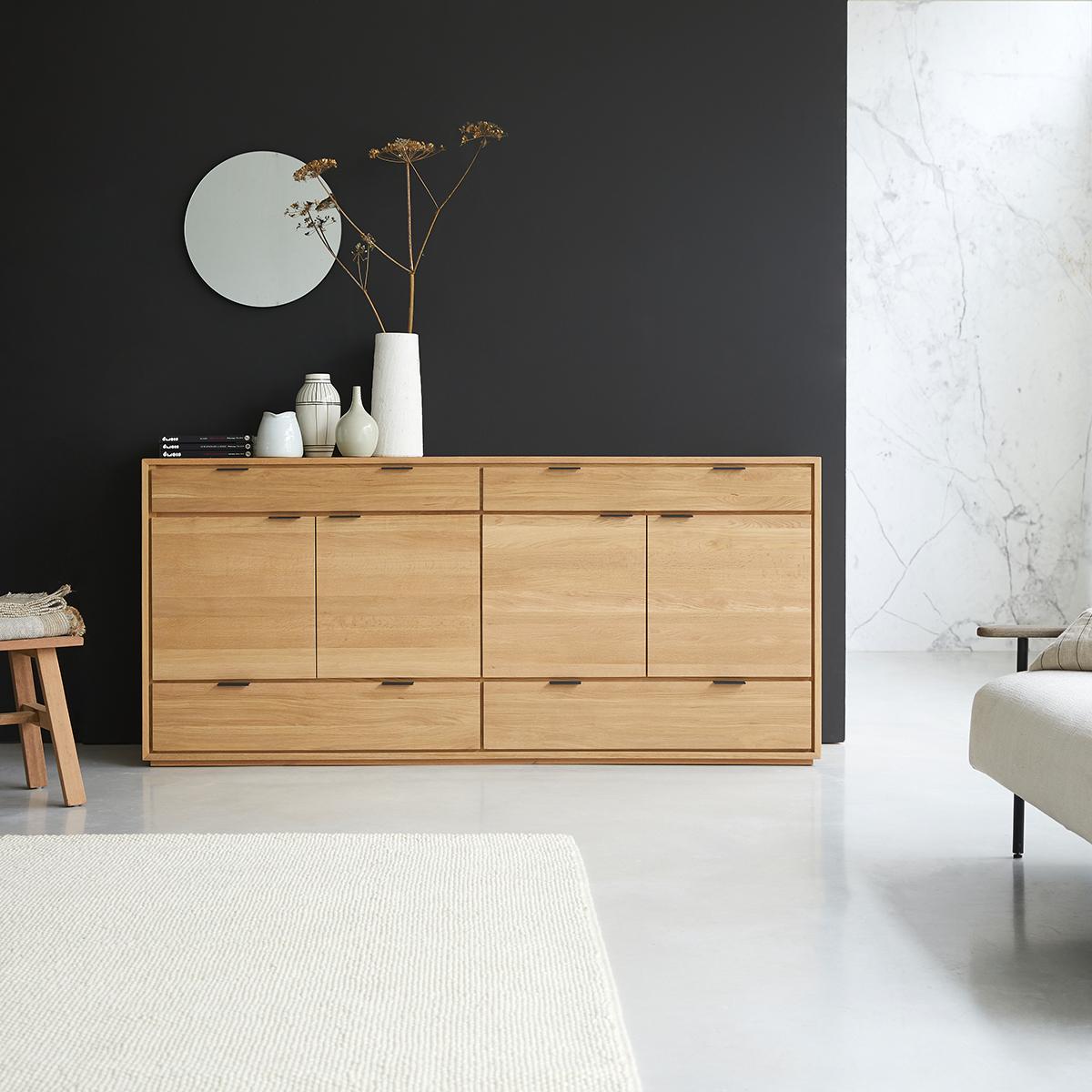 Senson solid oak Sideboard 200 cm