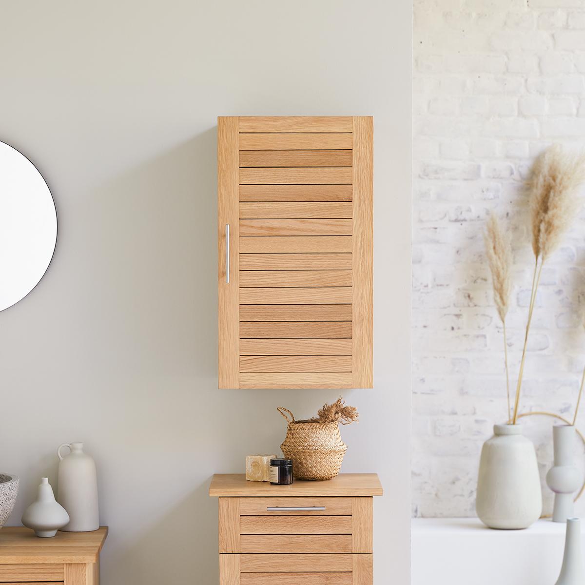Soho solid oak Wall unit