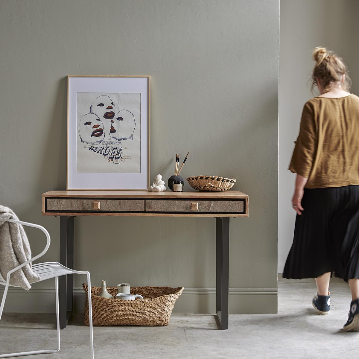 Temis acacia Console table