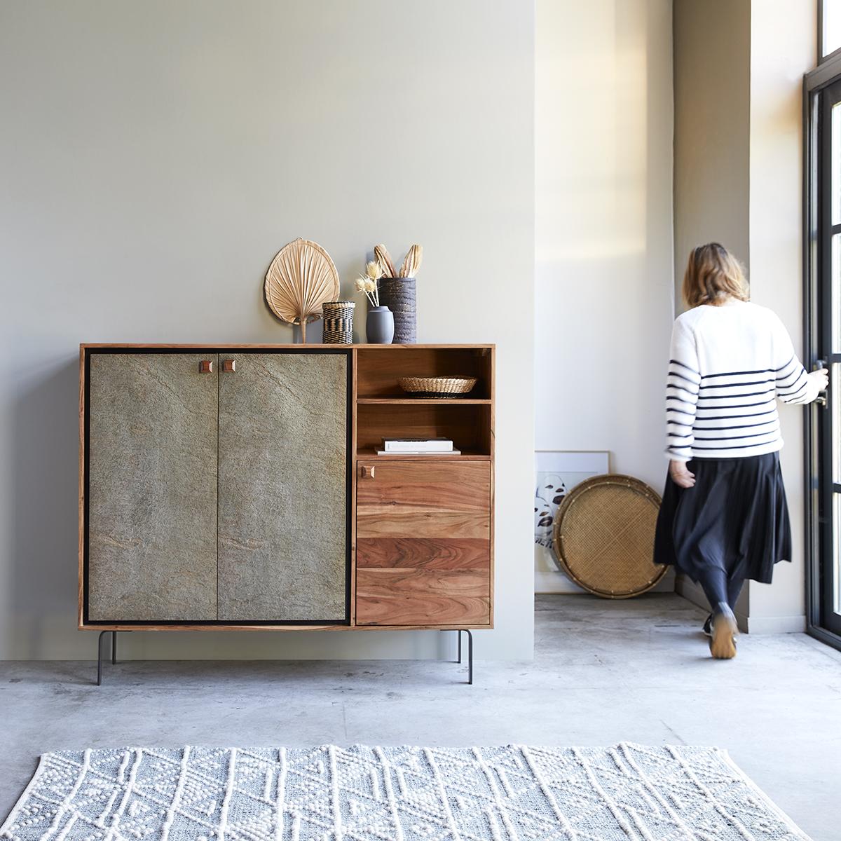 Temis acacia Sideboard 150 cm