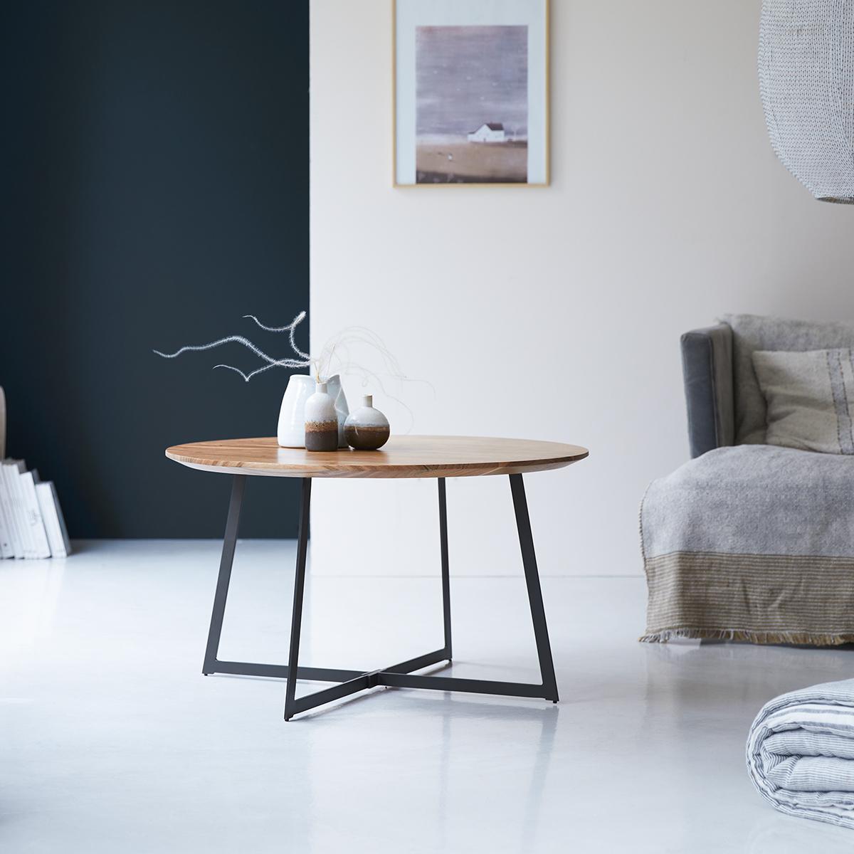 Temis solid acacia Coffee Table