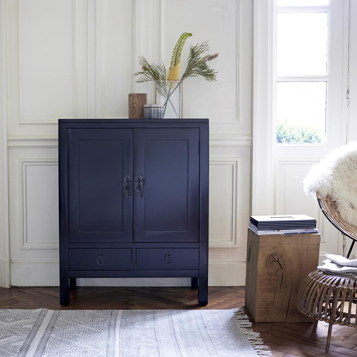 Thaki black wenge Dresser 80 cm